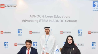 ADNOC, LEGO Education sign partnership agreement to boost STEM education