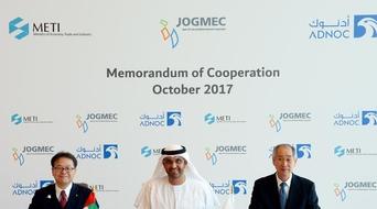 ADNOC strengthens energy partnership with Japan through tri-partite memorandum