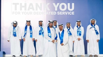 ADNOC employees receive long service awards from group CEO