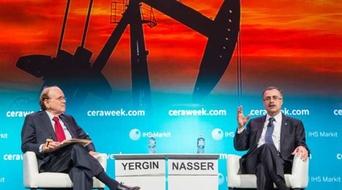 Saudi Aramco CEO addresses future of oil at CERAWeek conference
