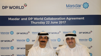 DP World, Masdar sign MoU to explore clean energy solutions