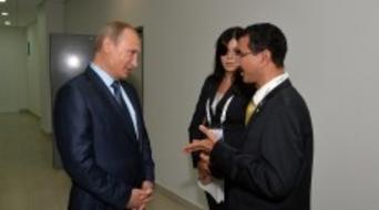 Putin and DP World boss discuss Russian investment