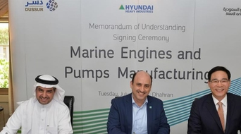 Saudi Aramco, Dussur, HHI collaborate to form engine and pump joint venture