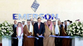 Emerson opens new $25mn facility in Saudi Arabia to boost localised innovation, training