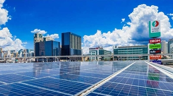 ENOC presents first solar-powered service station