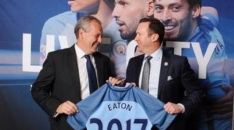 Eaton, Manchester City Football Club sign deal