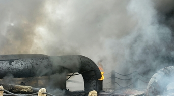 Four dead in Mexico oil rig fire