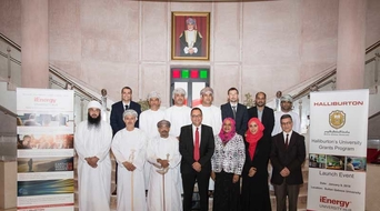 Halliburton makes grant to Omani university