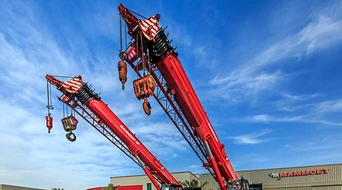 Mammoet Middle East expands its crane fleet