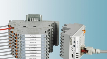 Phoenix Contact Mini Analog Pro signal conditioners offers reliable insulation from field to network