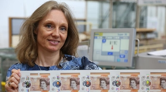 Bank of England unveils new polymer note