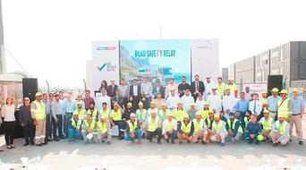 Puma Energy hosts 'Be Road Safe' initiative in Dubai