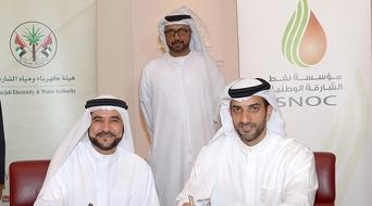 Sharjah National Oil Corporation to supply natural gas to SEWA