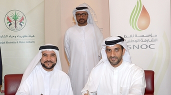 Sharjah National Oil Corporation to supply natural gas to SEWA