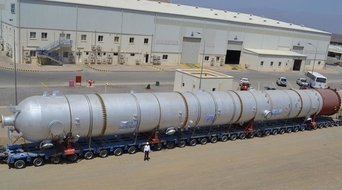 Oman's STS makes the largest process vessel for PDO