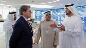 Secretary Perry visits ADNOC headquarters, explores UAE-US bilateral energy cooperation