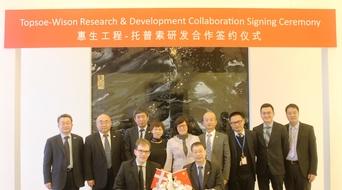 Wison Engineering, Haldor Topsoe sign R&D pact