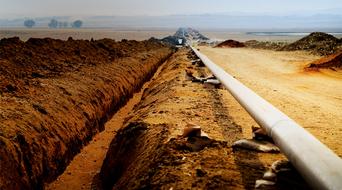 Canadian gas pipeline ruptures