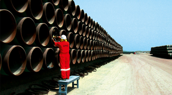 Optimising pipe fit-up to minimise delays