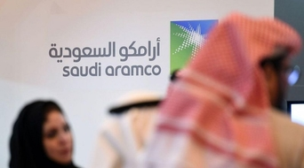 Nasdaq chief coy on Aramco
