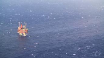 Fire at North Sea BP platform halts production