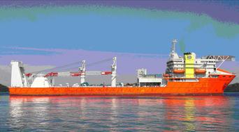 Drydocks World delivers OCV to Coastline Maritime