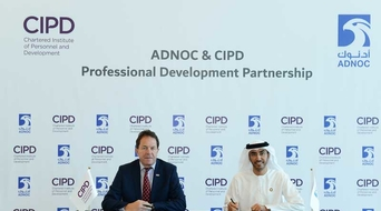 ADNOC, Chartered Institute of Personnel and Development sign partnership for professional development