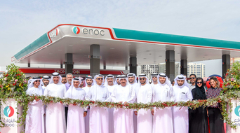 ENOC Group opens third solar powered service station