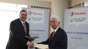 Total, Pavilion move forwards with Singapore LNG agreement