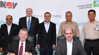 Aramco, NOV ink JV agreement to make drilling rigs, advanced equipment