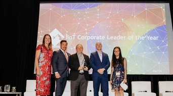Emerson wins 'IIoT Corporate Leader of the Year' award from McRock Capital