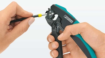 Phoenix Contact introduces new crimping pliers