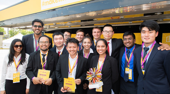 AUS students selected as finalist by Shell Ideas360 in innovation competition