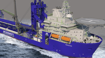 McDermott announces J-Lay modifications for pipelay and construction vessel Amazon