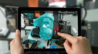 Italpresse Gauss uses AVEVA's virtual and augmented reality for maintenance