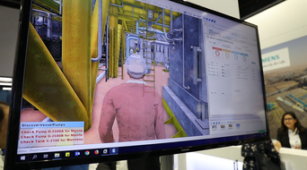 Siemens demonstrates its MindTwin Portal digital twin technology