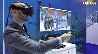 BHGE demonstrates its VR training program