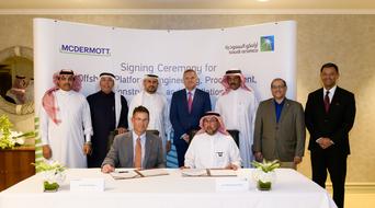 McDermott signs agreement with Saudi Aramco to create Saudi EPCI facility