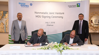 Saudi Aramco inks MoU with BHGE for non-metallic materials production facility in KSA