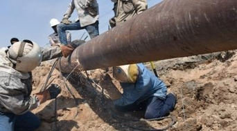 Damaged Iraq pipeline in Basra repaired