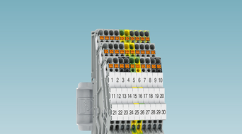 Pluggable terminal blocks increase wiring density in limited space
