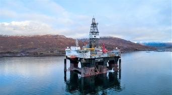 Simulator training success on Ocean GreatWhite rig