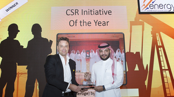 CSR Initiative of the Year 2019 winner at the Middle East Energy Awards announced