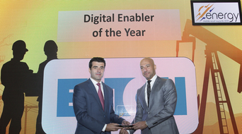 Digital Enabler of the Year 2019 winner at the Middle East Energy Awards announced