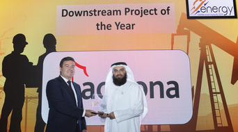 Downstream Project of the Year 2019 winner at the Middle East Energy Awards announced