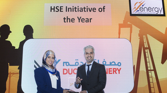 HSE Initiative of the Year 2019 winner at the Middle East Energy Awards announced