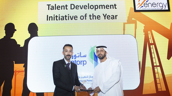 Talent Development Initiative of the Year 2019 winner at the Middle East Energy Awards announced