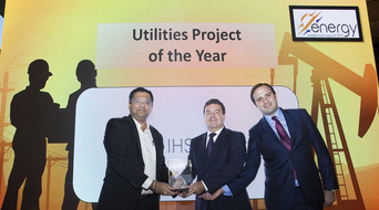 Utilities Project of the Year 2019 winner at the Middle East Energy Awards announced