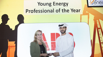 Young Energy Professional of the Year 2019 winner at the Middle East Energy Awards announced