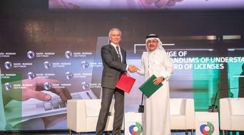 Saudi Aramco inks 10 agreements with Russian companies